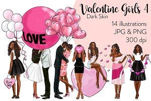 Valentine Girls 4 - Dark Skin
