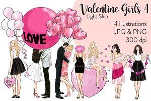 Valentine Girls 4 - Light Skin