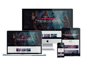 ET Rocker Joomla Music template