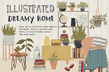 Illustrated Dreamy Home