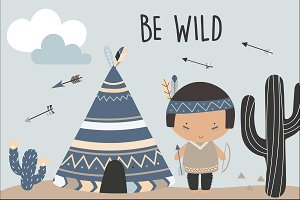 Be wild-Tribal boys