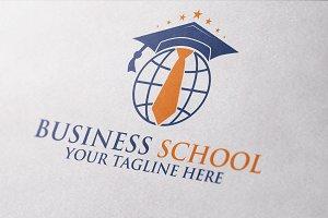 Business School Logo Template
