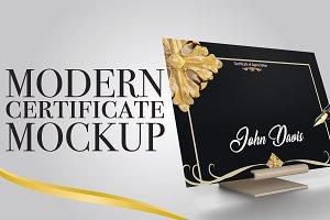 Multipurpose Certificate Mockup V1