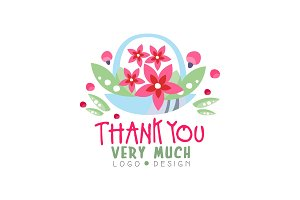 Thank You Very Much logo design