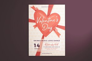 Valentine's Day Flyer Vol. 01