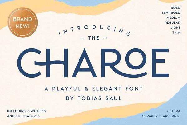 Charoe Typeface & Extras