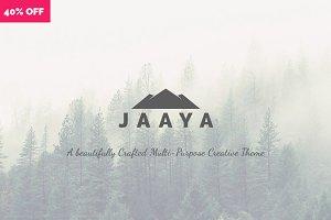 JAAYA | Multi-Purpose Creative Theme