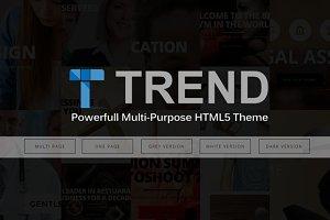 Trend - Multi-Purpose HTML5 Responsi