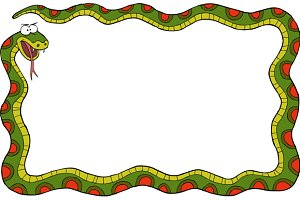 Frame of the snake