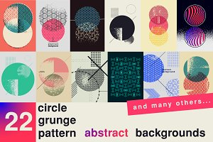 Set of vector abstract backgrounds.