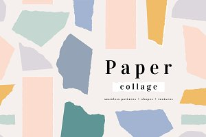 Paper Collage | Patterns + Shapes