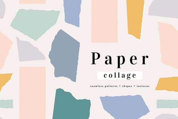 Graphic Patterns: Iveta Angelova - Paper Collage | Patterns + Shapes