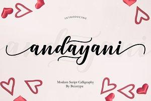 Andayani Script | Specials Valentine