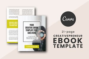 Creativepreneur eBook Canva Template