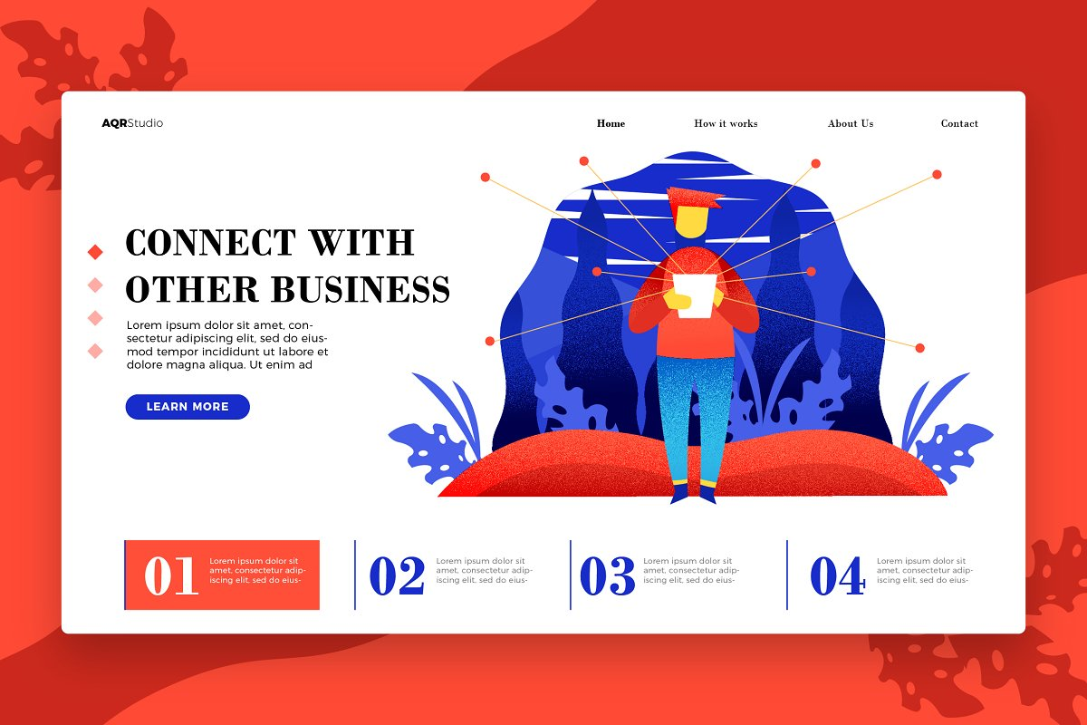 Business - Banner &Landing page