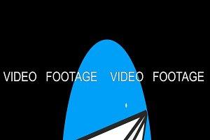 Message Premium flat icon animated