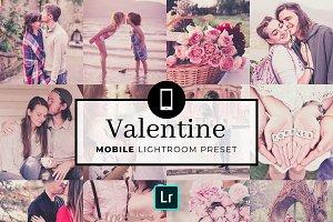 Mobile Lightroom Preset Valentine