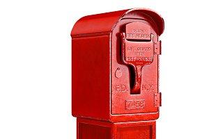 Fire alarm danger hydrant, close