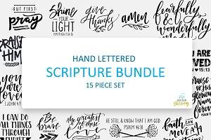 Hand Lettered Scriptures Bundle