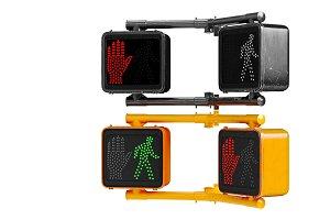 Traffic sign light