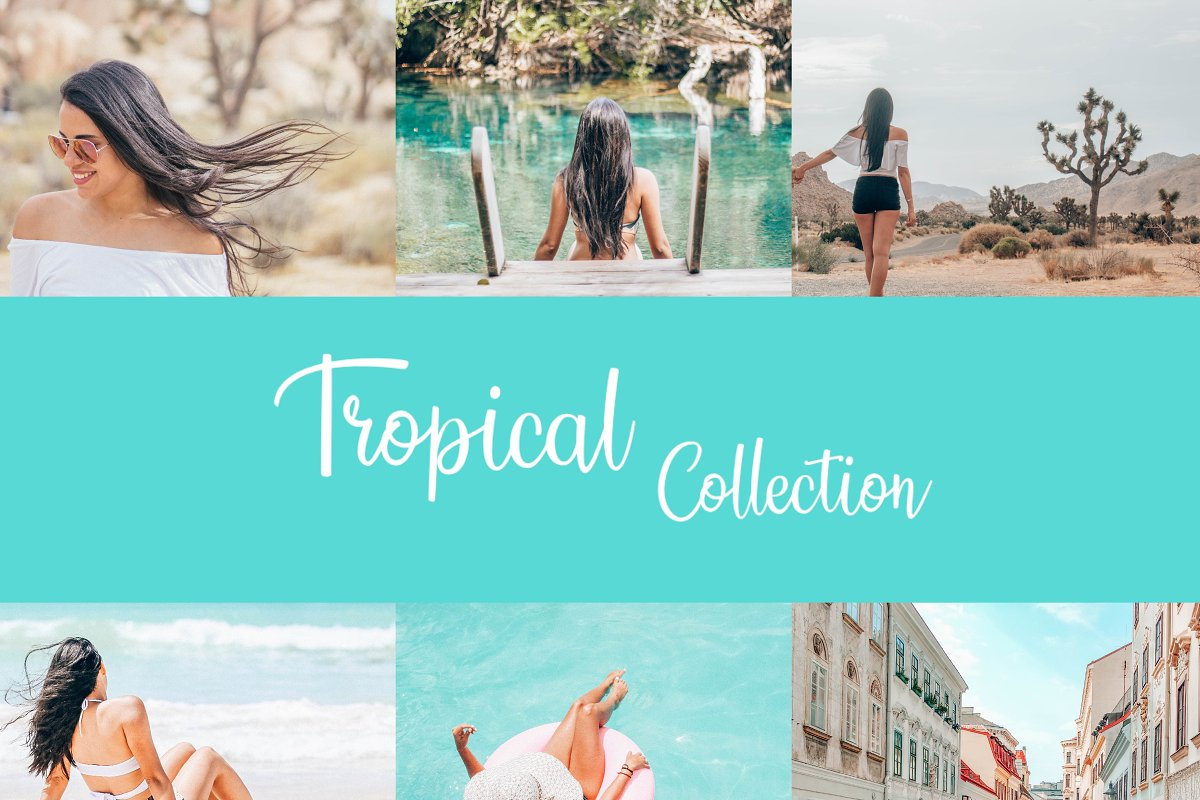 Tropical Vibes Collection