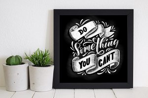 DO SOMETHING YOU CAN'T - poster