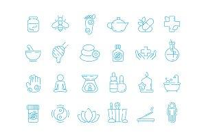 Alternative medicine symbols