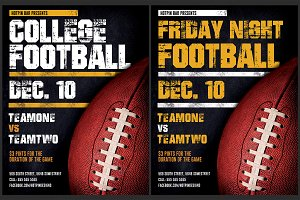 American Football Flyer Template