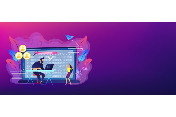 Doxing concept banner header.