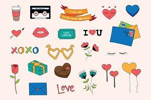 Love & Hearts (20+ vectors)