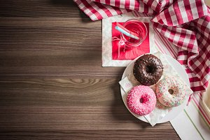 Sweet & Colorful Donuts #1