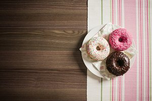 Sweet & Colorful Donuts #2