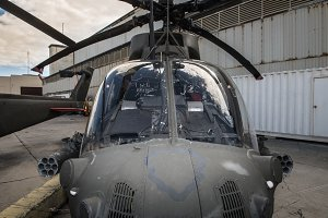 American military helicopter