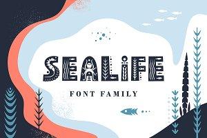 Sealife Font Family