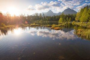 High Tatras, Slovakia Panorama #2