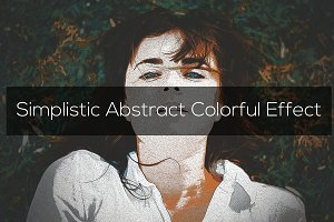 Simplistic Abstract Colorful Effect