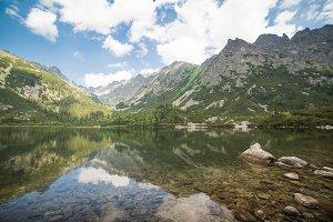 Clear Lake in High Tatras, Slovakia