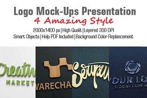 Logo Mock-Ups Presentation