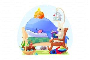 ♥ vector illustration for boy