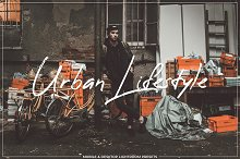 Urban Lifestyle Lightroom Presets by  in Actions