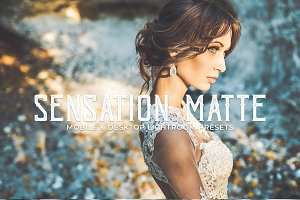 Sensation Matte Lightroom Presets