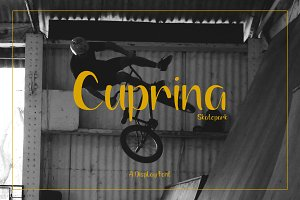 Cuprina | Display Font