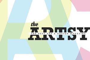 Artsy Magazine Keynote Template