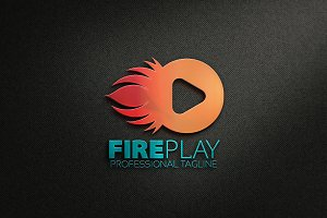 Fire Play Logo