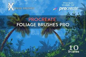 Procreate Foliage Brushes PRO!