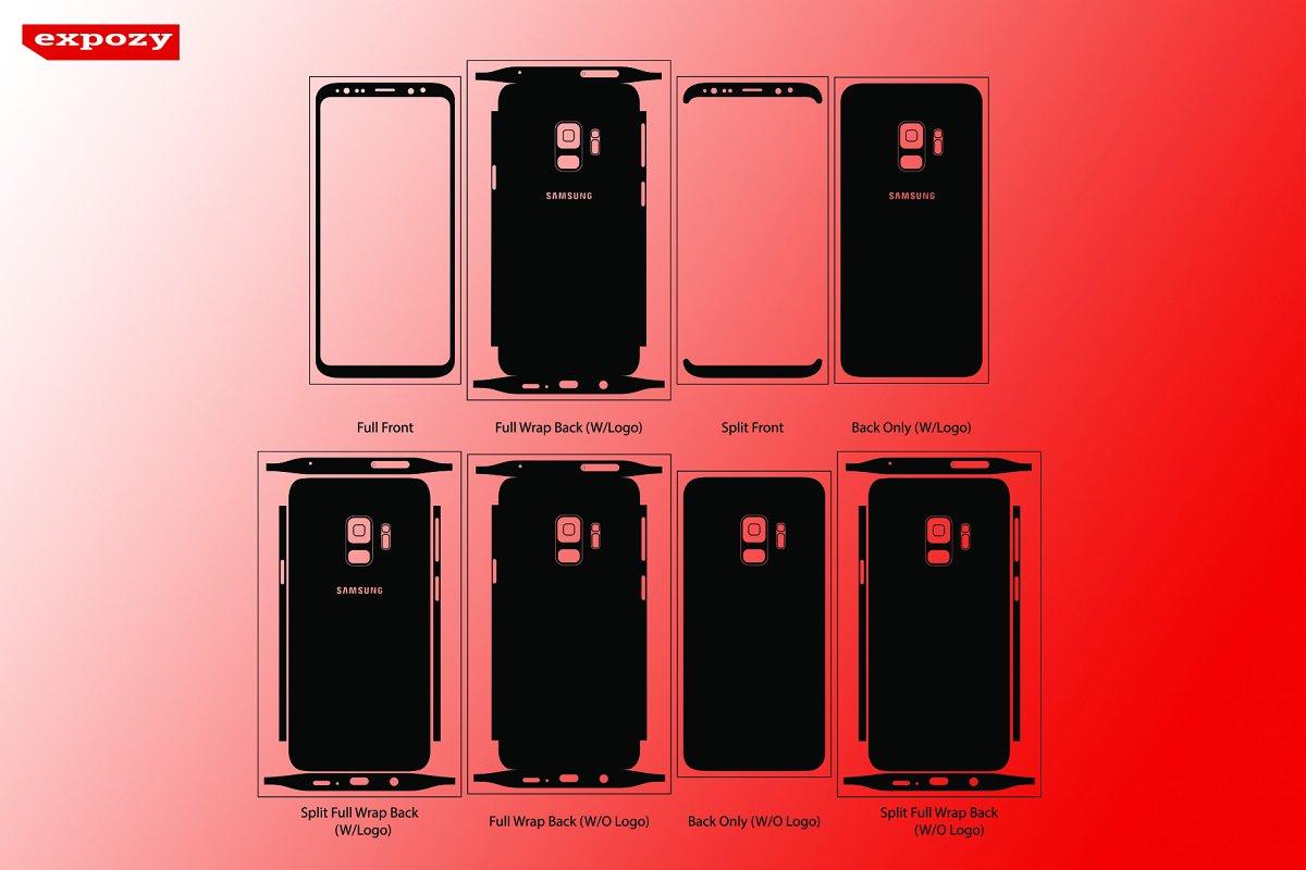 Samsung Galaxy S9 Cut Files