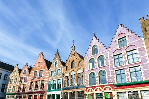 Historic buildings in Grote Markt of