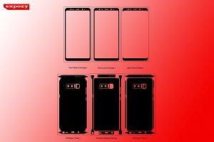Samsung Galaxy Note 8 Cut Files