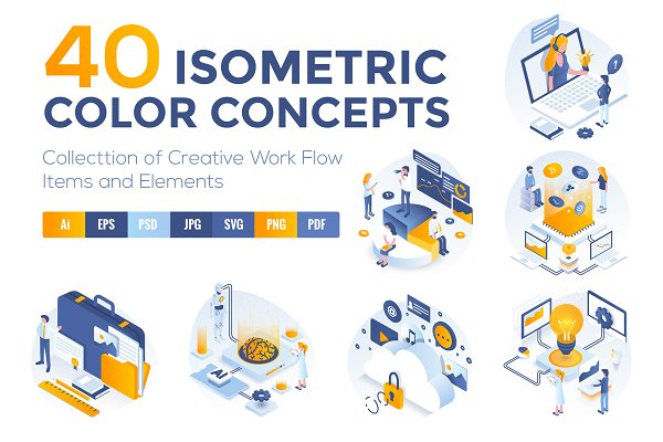 Set of Modern Isometric Concepts