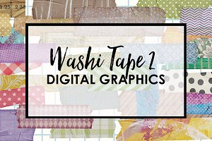 Washi Tape Digital Graphics 2